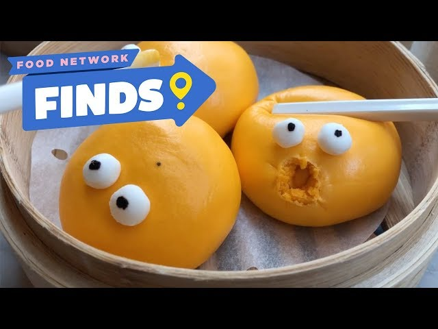World's CUTEST Dim Sum at Yum Cha | Food Network Finds