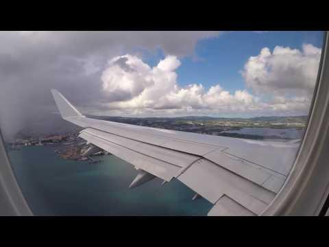 [FLIGHT#41] AMERICAN AIRLINES E175 Miami ⇒ Martinique (LANDING)