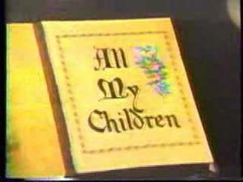 All My Children - Early 80s Opening Theme - YouTube