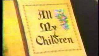 All My Children - Early 80s Opening Theme
