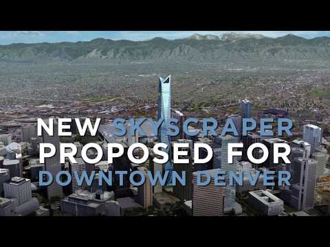 New 1,000-foot skyscraper proposed for downtown Denver