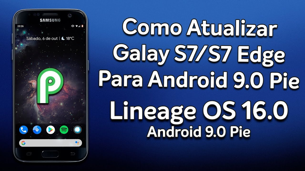 android 9.0 samsung s7