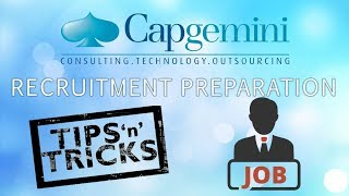 CAPGEMINI  | TIPS & SUGGESTIONS FOR RECRUITMENT DRIVE || LAST MINUTE PREPARATION STRATEGY