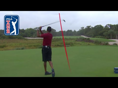 Tiger Woods' Shot Trails From Capital One's The Match