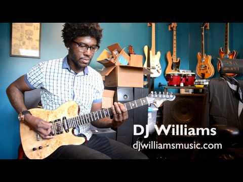 PHRED instruments Tella Guitar Demo by DJ Williams  - Part 2