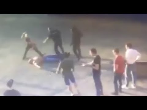 MMA Fighter Kills Power Lifter in Brutal Russian Street Fight