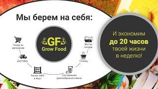 Кухня Grow Food. Доставка правильного питания. Миронов, Щукин, Бойцов, Наваррская уже с нами!