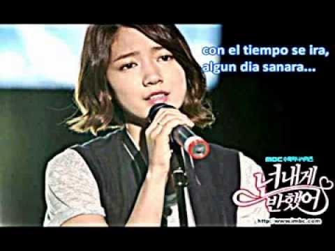 I will Forget you   Park Shin Hye Cover Español]