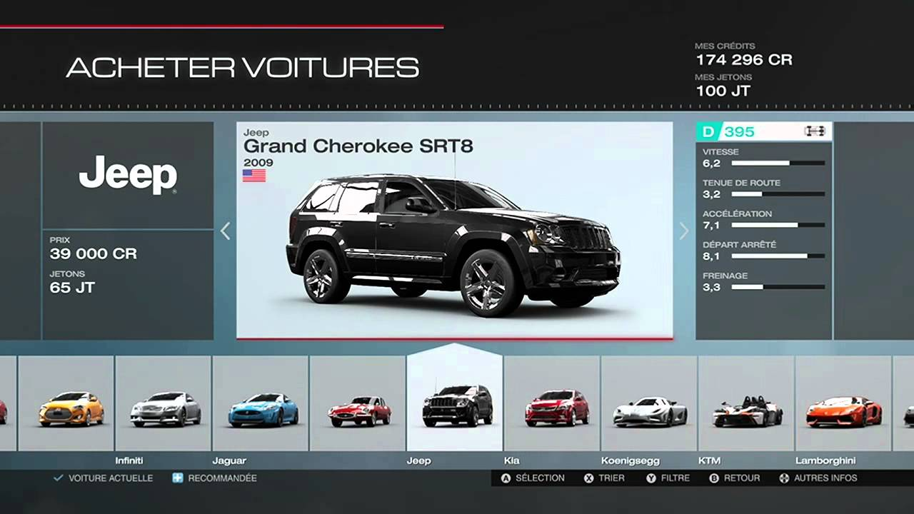 forza motorsport 5 liste de toutes les voitures youtube. Black Bedroom Furniture Sets. Home Design Ideas