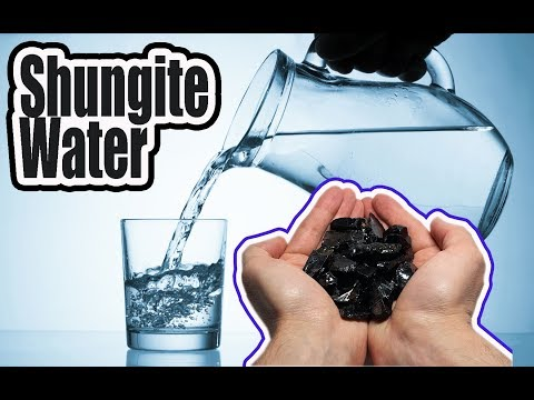 How to make clean water with the help of Elite Shungite