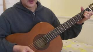 """Hướng Dẫn Guitar Solo (intro) Nhạc Phẩm """"Nữ Nhi Tình"""" --  女儿情"""