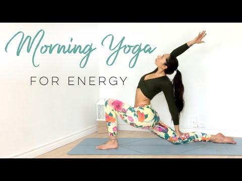 Morning Yoga Flow For Energy | 10 Minute Yoga