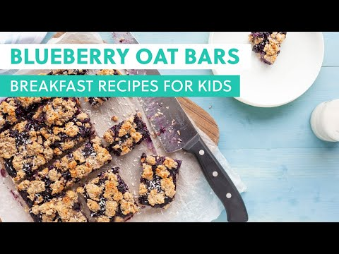 Blueberry Oat Bars Delicious and Super Healthy Recipes Perfect for Little Hands