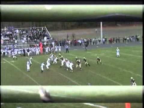 David Hood #3 2009 Absegami Football Highlights