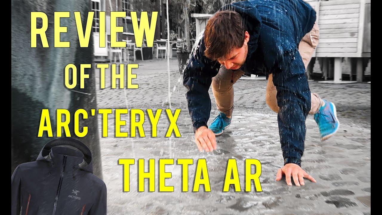 großer Rabatt Spielraum Promo-Codes Rain Jacket Test - Review of the Arc'teryx Theta AR - The best Hard Shell  Jacket of 2017 #OneWeek
