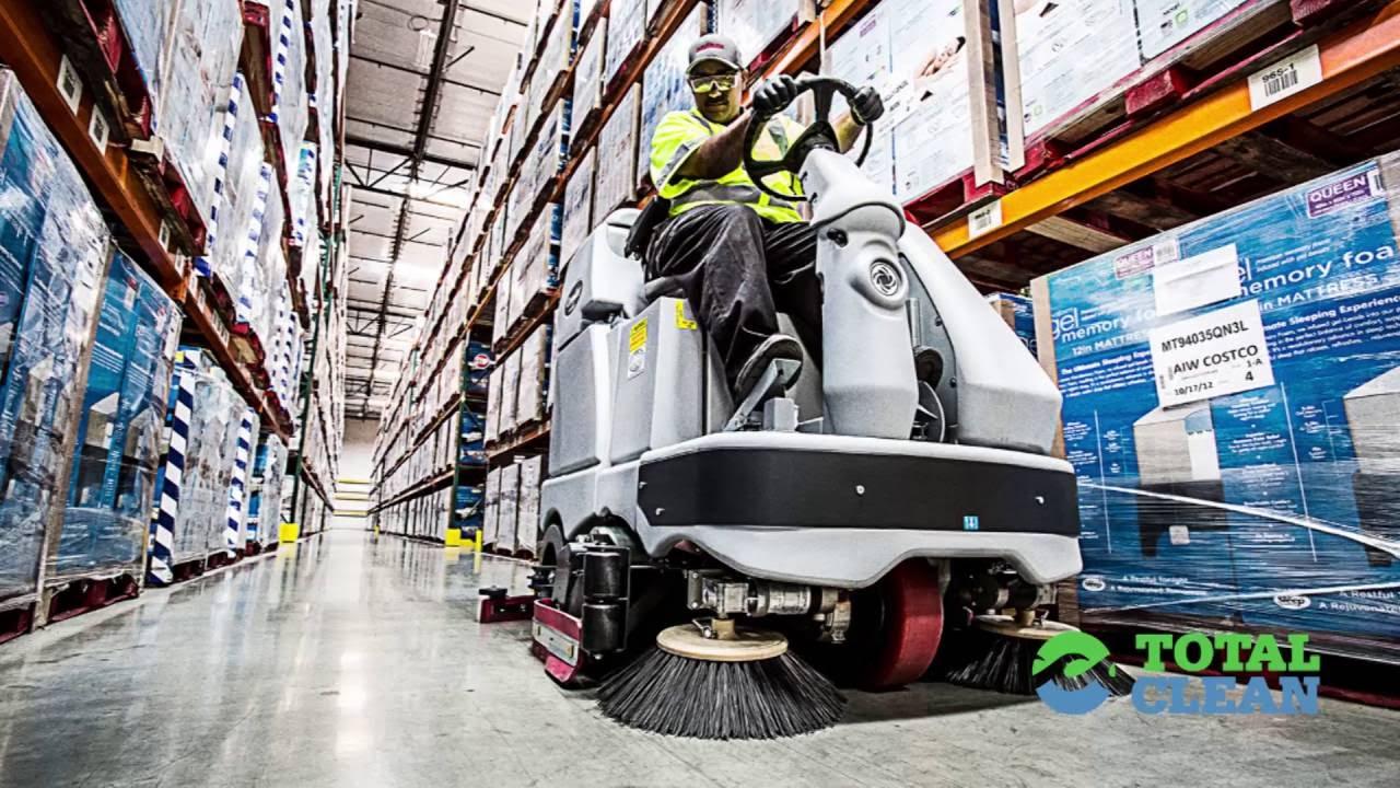 Total Clean Equipment Floor Scrubber Rental Near Me In Los Angeles - Warehouse floor scrubber rental