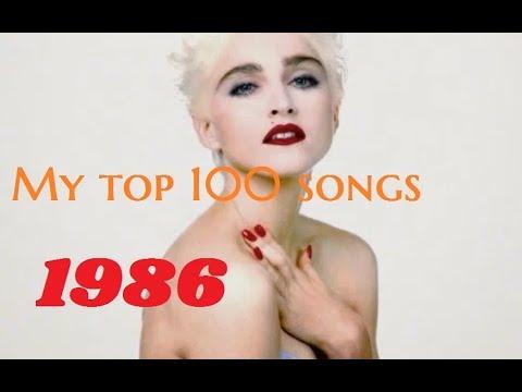 My top 100 songs of 1986