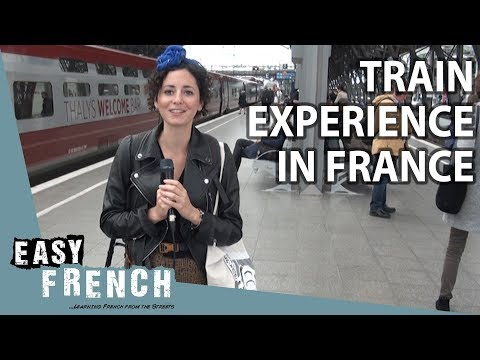 Taking A Train In France   Super Easy French 65