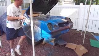 Restoring a 1979 Camaro, Son's first car.