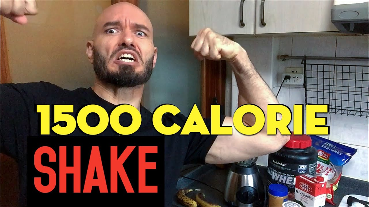 gain weight! 1500 calorie homemade