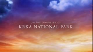 Camp Marina NP Krka by drone
