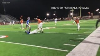 Shocking football hit may have been a blessing for student