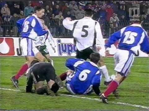 Gol Zahoviča v 94 minuti proti Yugoslaviji