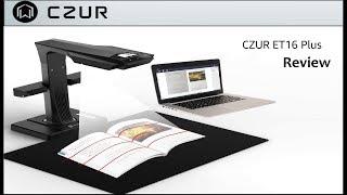 CZUR ET16 Plus Smart Book Scanner Review. Video