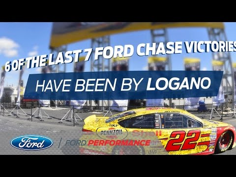 Joey Logano Advances to the NASCAR Chase Round of 8 | NASCAR | Ford Performance