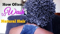 How Often Should I wash My Natural Hair | DETAILED