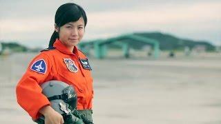 Female F-5E Fighter Pilot at Taiwan Air Force (ROCAF): 1st Lt Kao Tzu-yu (高慈妤 女飛行員)