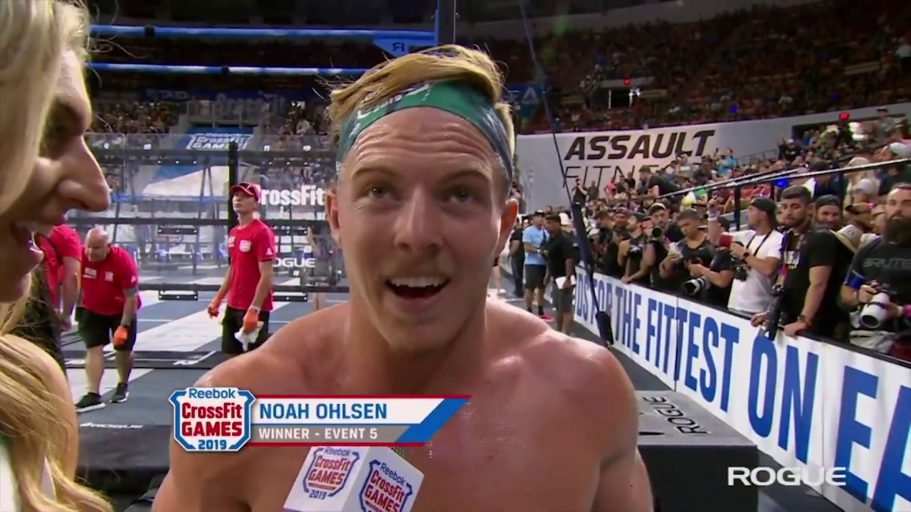 Noah Ohlsen Mary Interview 2019 Reebok CrossFit Games