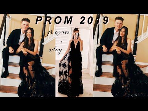 PROM 2019: SENIOR YEAR GRWM & VLOG