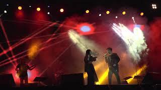 Vidi Aldiano ft Gita Gutawa - Aku Cinta Dia (Chrisye) Live konser di Hotel Arya Duta Sponsor by LA bold Experience.