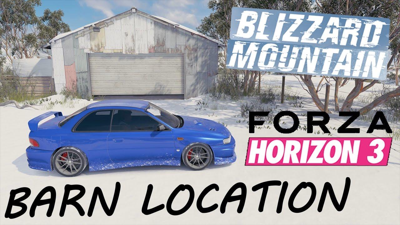 Blizzard Mountain Barn Find Location