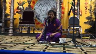 Vidya Srinivas Swaraabhishekam 2014 Performance