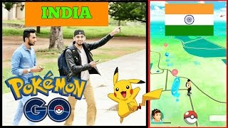 Playing Pokémon Go in INDIA (HINDI VERSION) l How to Play l The Baigan Vines