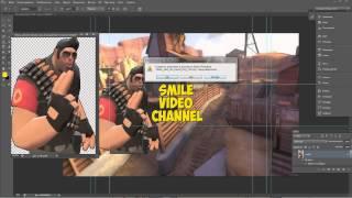 Как создать шапку(фон) для канала youtube