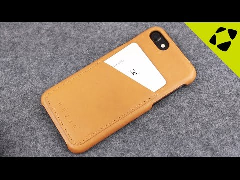 Mujjo IPhone 7 Leather Wallet Case Review - Hands On