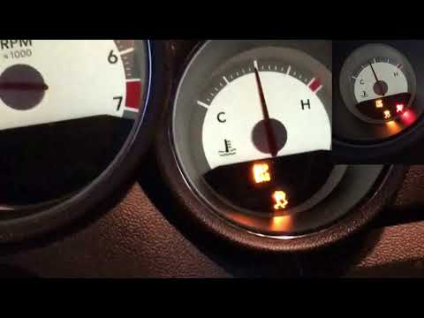 2010 Dodge Charger ESP BAS Light On And Off  Traction Control