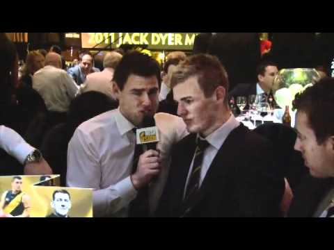 Newman at the Jack Dyer Medal