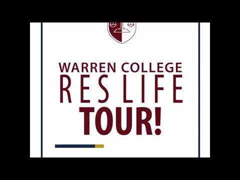 Warren College Residential Hall Tour 2017