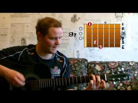 Oasis - Half The World Away (Mr Kiplin Guitar Lesson)