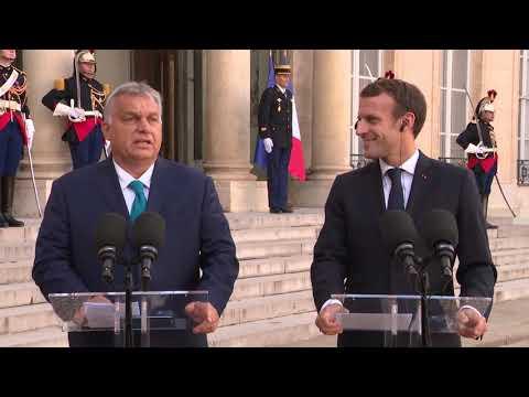 Déclaration avec Viktor Orbán, Premier ministre de Hongrie