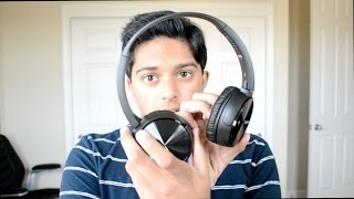 Sony MDRZX330 Bluetooth Headphone Unboxing and Review