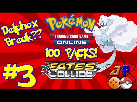 Pokemon TCGO | 100 Fates Collide Packs! | Part 3 | AtomPunk
