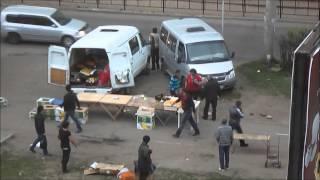 г.Ангарск парковка по ул. Коминтерна 22микрорайон