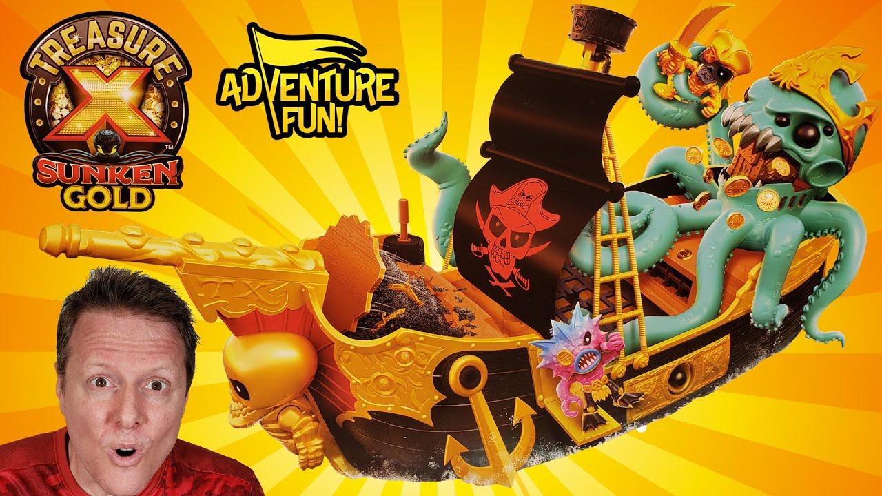 Gold Divers SIR OCTO Treasure X Sunken Gold