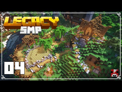 Legacy SMP - 04 - EXPANDING Our BASE | Survival Minecraft 1.15