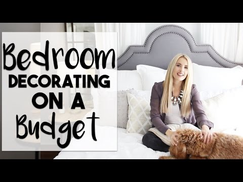 INTERIOR DESIGN: Bedroom Decorating Hacks and Tips | Making the Most of Our Small Bedroom |